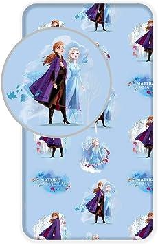 Disney - Sábana Bajera (90 x 200 cm, 100% algodón), diseño de ...