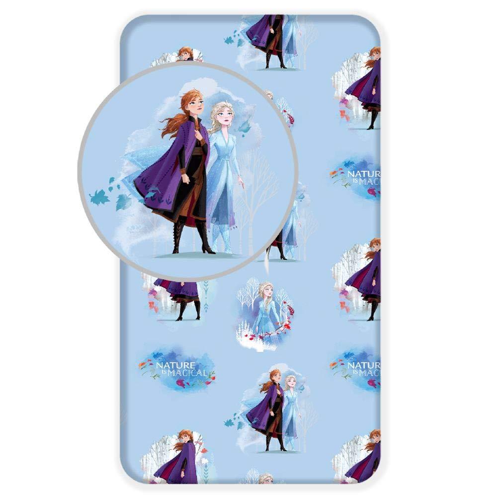 Disney Drap Housse La Reine des neiges 90 x 200 cm 100/% Coton