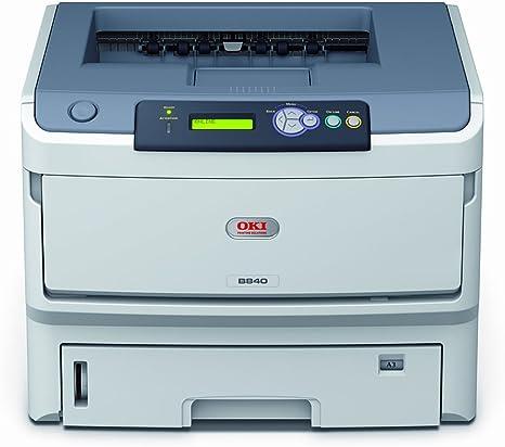 Oki B840Dn - Impresora láser monocromo (A3, 40 ppm, 1200X1200 Dpi ...