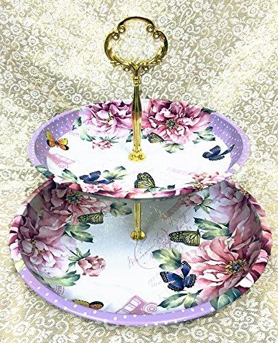 (Plate Floral Serving)