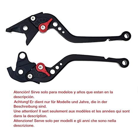 Maneta palanca de embrague y de freno regulable para Yamaha YZF-R6 (1999-