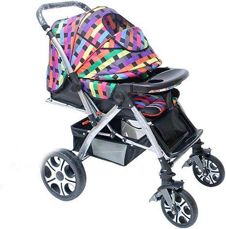 Opinión sobre Cochecito de bebé, Cochecito Plegable portátil Compacto, Cochecito Inclinado, Cochecito Ligero para niños