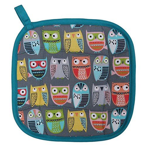 Friendly Owls Pot Holder – Handmade