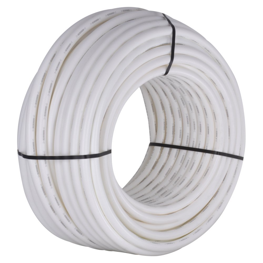 SharkBite U880W300 PEX Pipe 1 Inch, Flexible Water Tube, Potab, 300-Foot, White