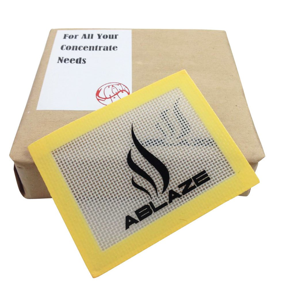 ABLAZE 100 Pcs Silicone Wax Container Bulk Shatter Concentrate Nonstick Non Stick Jar 3ml Mixed Color by Ablaze