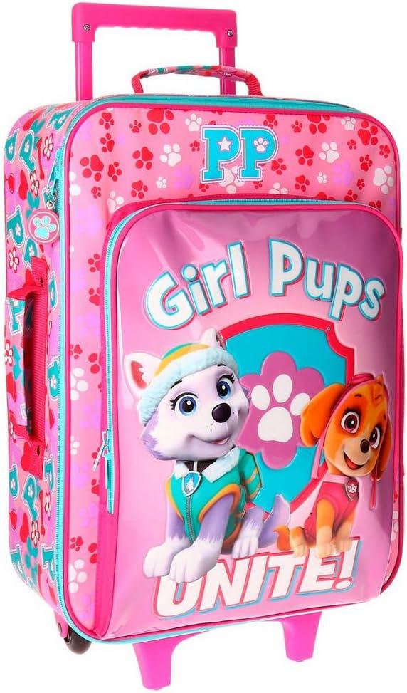 26 liters 50 cm Paw Patrol Girls Pups Bagage enfant Rosa Rose