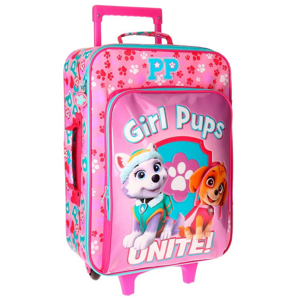 Paw Patrol Girls Pups Kindergepäck, 50 cm, 26 liters, Rosa