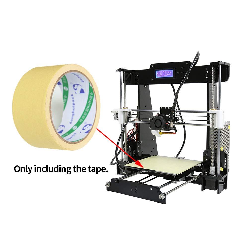 2 rollos de cinta adhesiva de impresión 3D de alta resistencia a ...