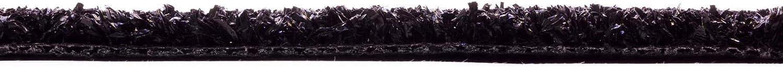 Anthrazit B1-2,00m x 1,50m Brandhemmend Messe-Kunstrasen Bodenbelag Kunstrasen B1 Kunstrasenteppich Rasenteppich Meterware Tuftrasen Messerasen DIAMOND
