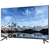تلفزيون ذكي اسود من هاير، 50 بوصة، 3840x2160 مزود بتقنية الترا اتش دي بتقنية 4 كيه، LE50K6600UG