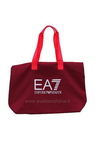 96dd1ea804 Emporio Armani EA7 borsa donna a mano shopping tote nuova train series  rosa: Amazon.it: Abbigliamento