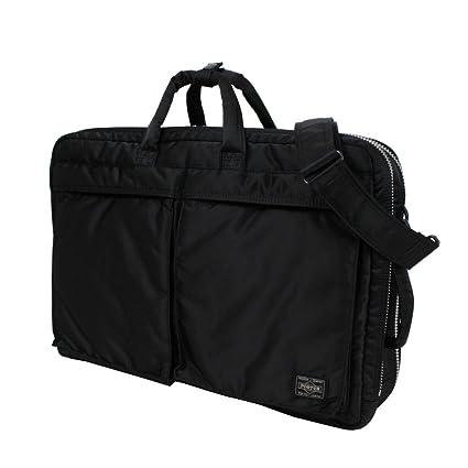 a557eb97592a Amazon.com  Porter Tanker   3way Briefcase 07460 Black   Yoshida Bag   Office Products