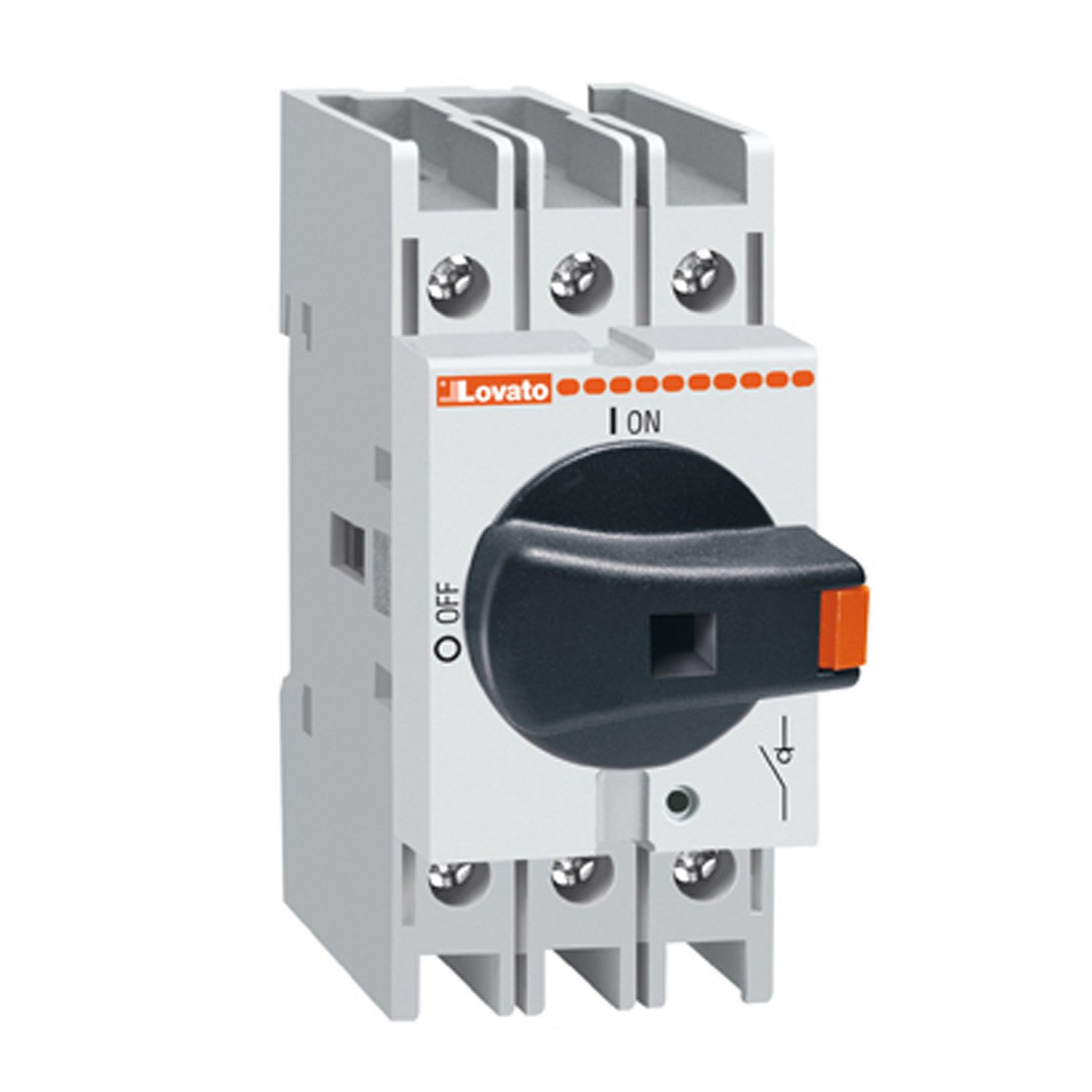 UL Listed 3 Pole 32 Amp ASI GA032A Disconnect Switch Panel Mount