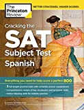 Best Barron's Educational Series Spanish Textbooks - Cracking the SAT Subject Test in Spanish, 16th Review