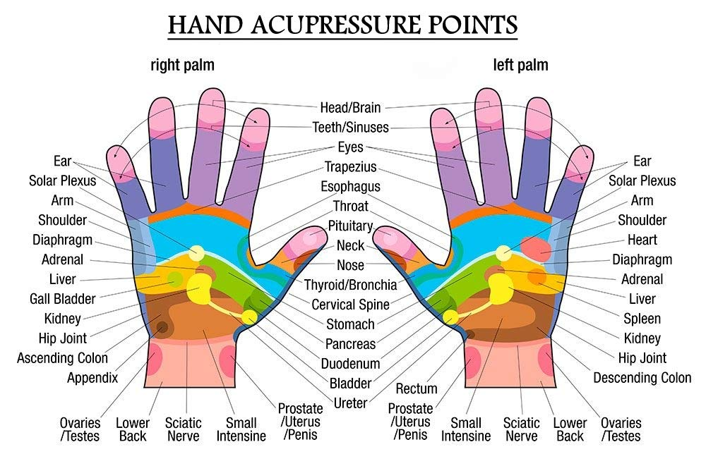 ARG HEALTH CARE Hand Guard Palm Acupressure Massager With Heat Air-pressure  For Hand Pain Relief(Random Color)