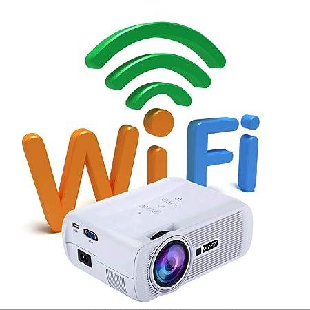YTDDD Proyector, Mini proyector Inteligente de Android, proyector ...