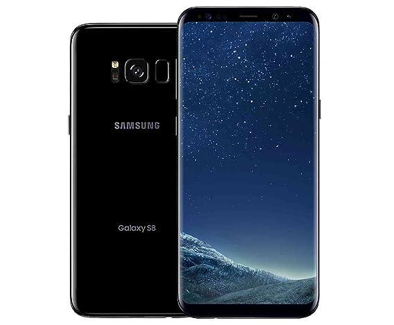 7654a18fe32 Amazon.com: Samsung Galaxy S8 64GB GSM Unlocked Phone - International  Version (Midnight Black): Cell Phones & Accessories
