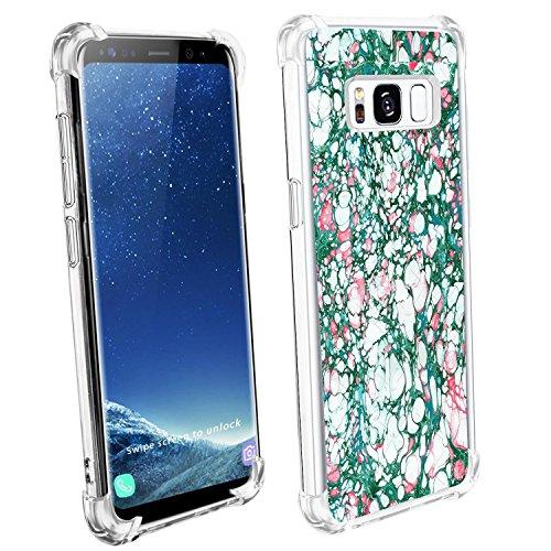 Samsung Galaxy S8/S8 plus Funda Pacyer® Cristal Claro Absorción TPU Parte Trasera Dura Anti-Estático Anti-Rasguño Anti-Golpes Refuerzo de Grosor Evitar Caídas Transparente 3