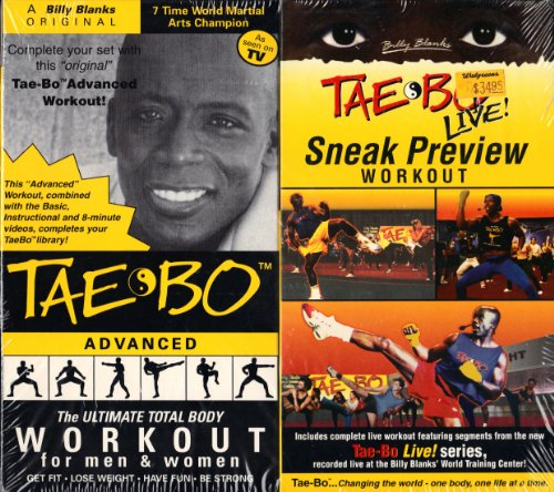 tae bo advanced vhs - 3