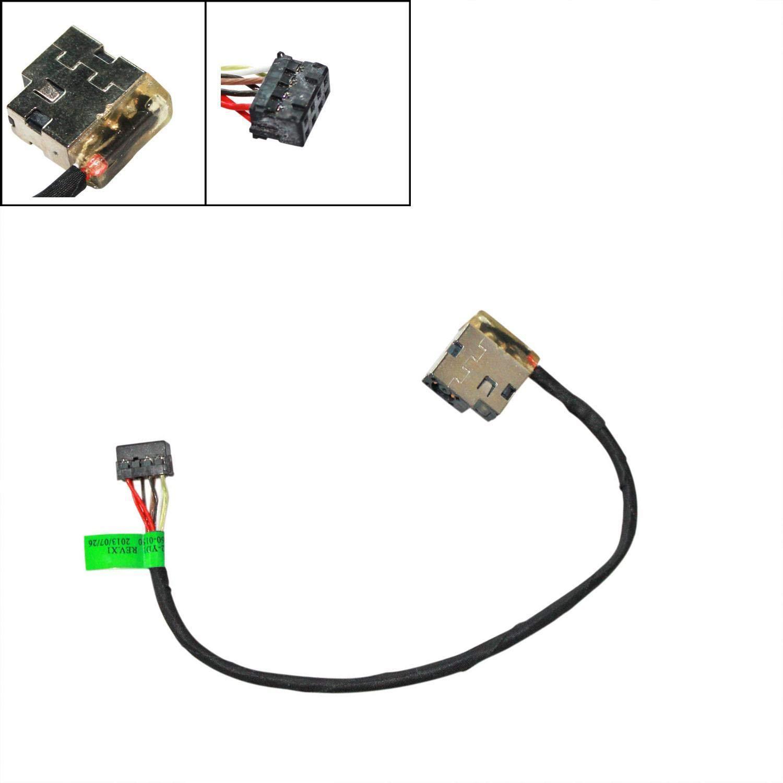 Conector de Repuesto para Conector de alimentaci/ón de CC para HP Envy 15-E 17-E P//N 709802-YD1 SD1 FD1 WEI AI