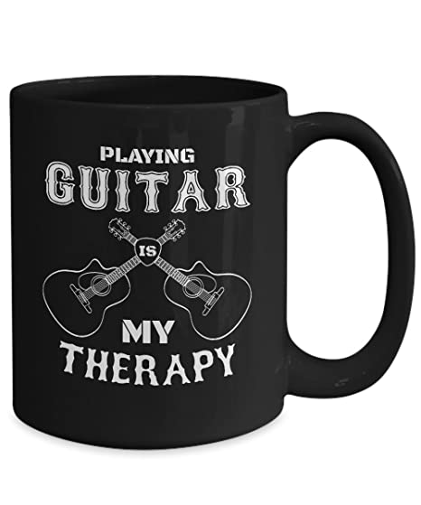 Amazon com: PLAYING GUITAR IS MY THERAPY - Lively Acoustic guitar