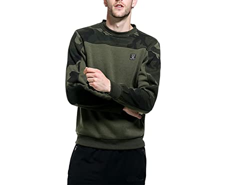 Talk about heaven Camo Hoodies Men Army Green 2018 Military Hooded  Sweatshirt Mens Camouflage Casual Hoodie 25921db63