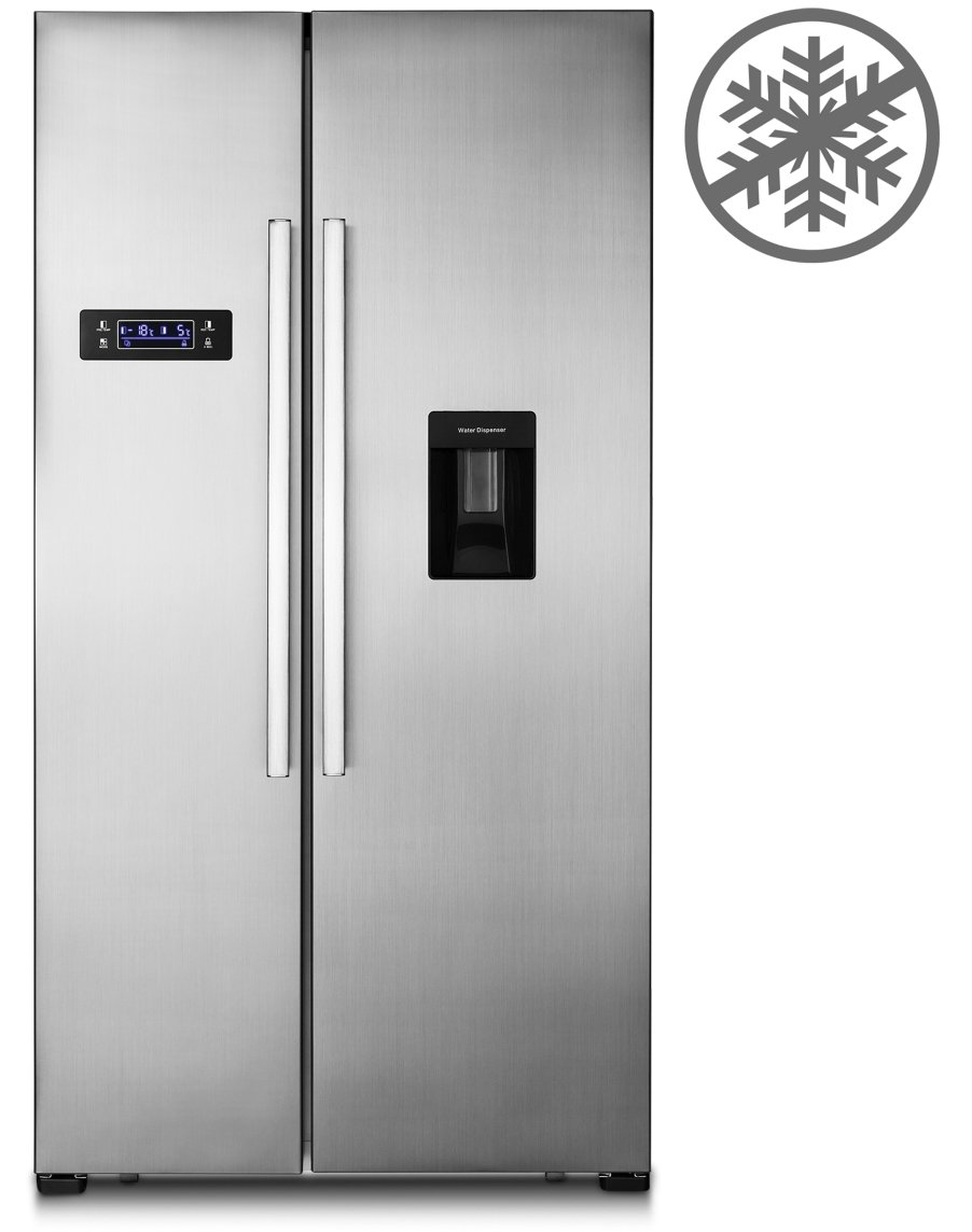 MEDION MD 37250 - Frigorífico congelador americano de dos puertas ...