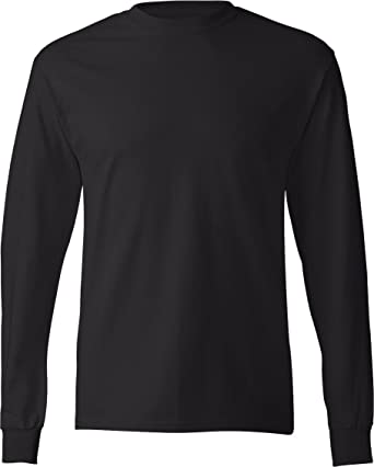 Hanes Adult Tagless Long Sleeve Tee | Amazon.com
