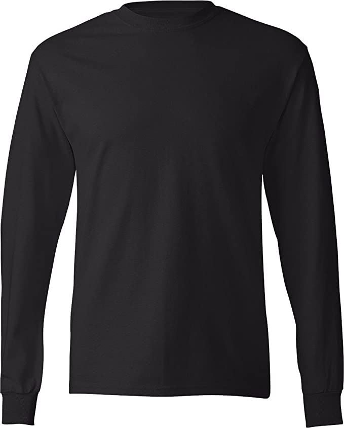 Black Long Sleeve T Shirt | Artee Shirt
