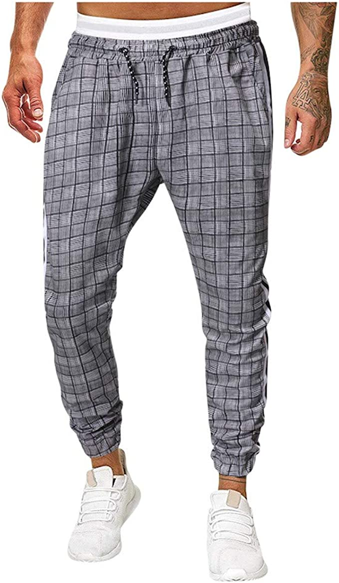 Pantalones de Casual Hombre Pantalones de Chándal para Hombre ...