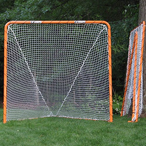 EZGoal Lacrosse Folding 6 Feet Orange