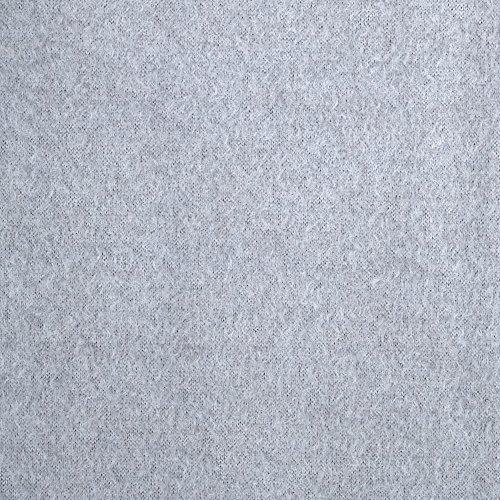 Fabric Merchants Warm Winter Fleece Solid Heather Grey ()