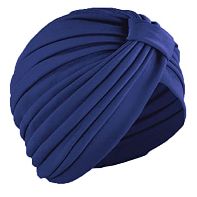 sur la tete Navy Blue Turban at Amazon Women s Clothing store  b17fbe15fd
