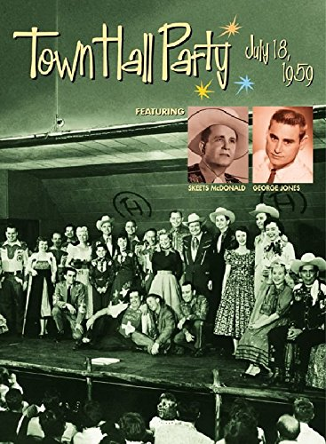 DVD : George Jones - July 18 1959 At Town Hall Party (DVD)
