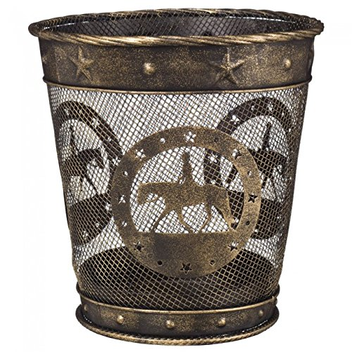 Gift Corral Small Waste Basket - Quarter Horse by Gift Corral