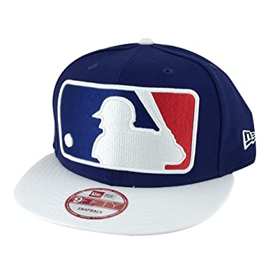 19c0f115 Image Unavailable. Image not available for. Color: New Era MLB Baseball  Umpire Referee x LA Dodgers Blue White Snapback Hat Cap