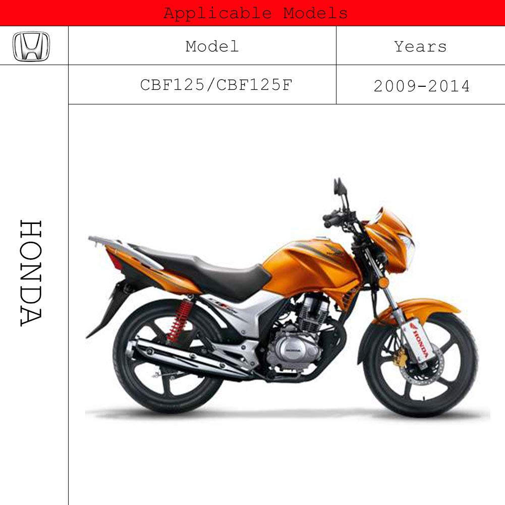Tencasi Rojo CNC Plegable Extensible Ajustable Palanca de embrague de freno para Kawasaki NINJA 650R ER-6N ER-6F 2009-2016 650cc Versys 2009-2014 NINJA 400R 2011