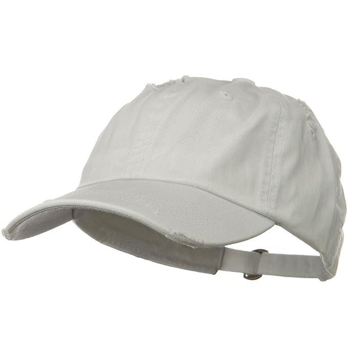 64c6a04502b DECKY Vintage Cotton Polo Cap - White at Amazon Men s Clothing store  Polo  Baseball Hat