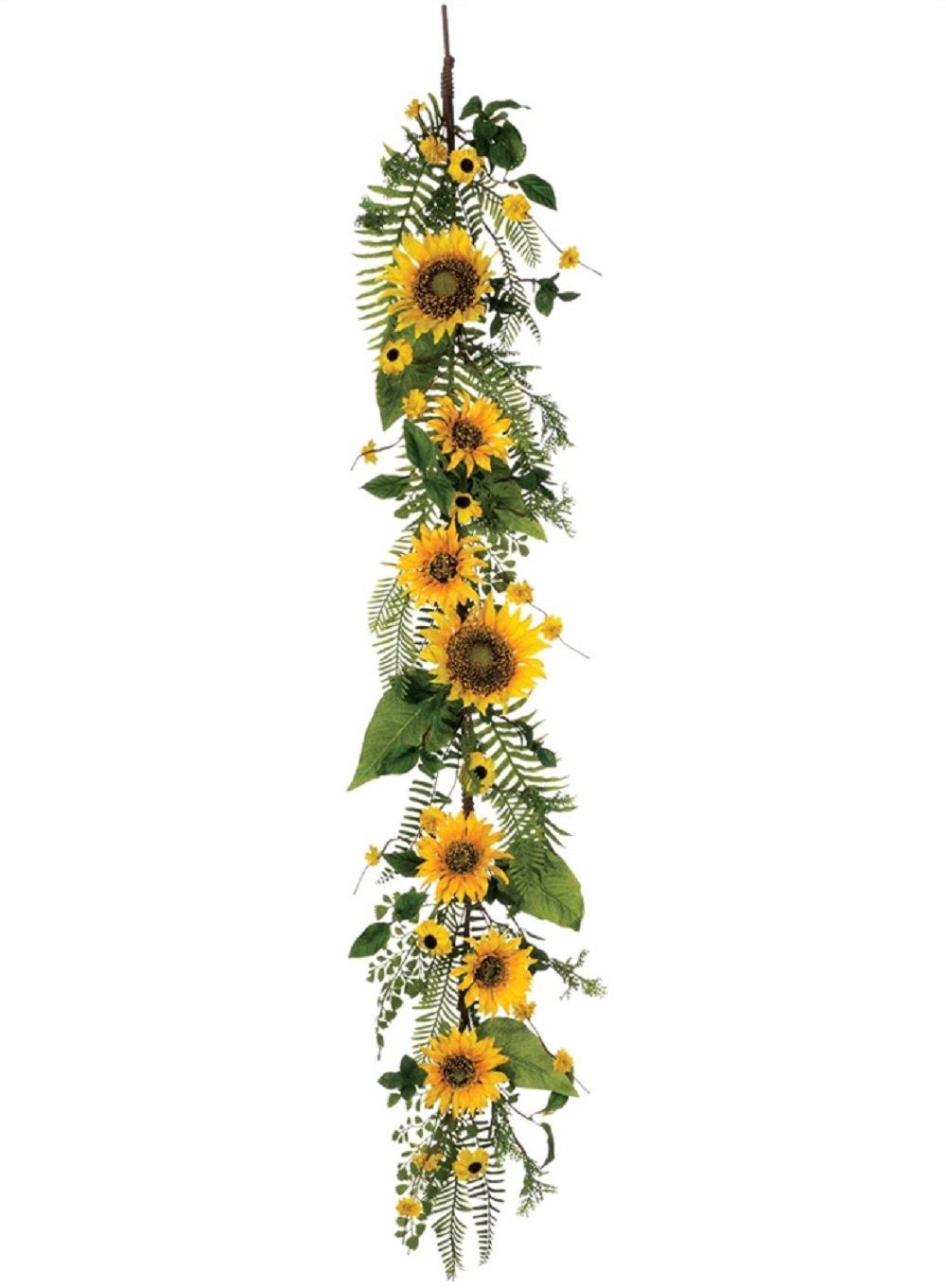 Sullivans Sunflower Garland Home Decor