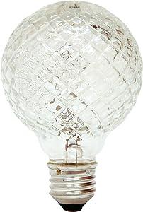 General Electric Lighting 16775 Crystal Halogen Globe Bulb 60W