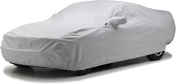 Covercraft Custom Fit Car Cover for Select Mazda MPV Models Black Fleeced Satin FS16098F5
