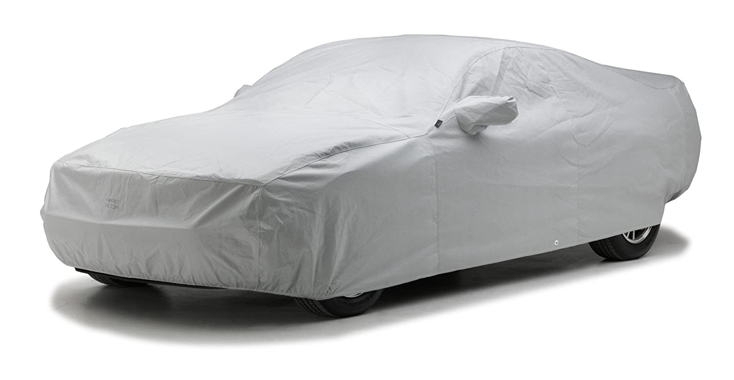 CB31NH Noah Fabric, Gray Covercraft Custom Fit Car Cover for Chevrolet and Pontiac