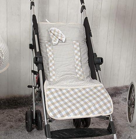 Colchoneta ligera para silla de paseo Babyline Carrusel color rosa