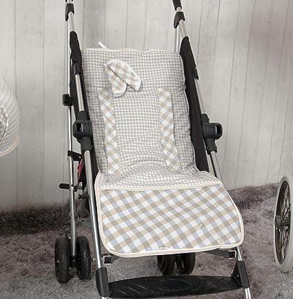 Babyline Summer - Colchoneta ligera para silla de paseo, color beige