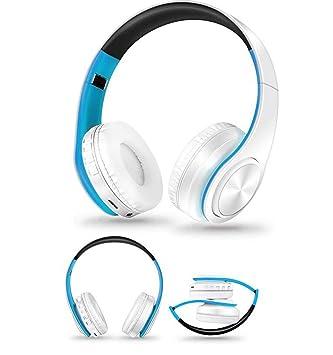 Hzhy Auriculares inalámbricos Plegables para Auriculares Música Bluetooth Inserción de Auriculares inalámbricos de Dibujos Animados.