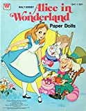 Walt Disney Alice In Wonderland Paper Dolls. (No. 1941-1).