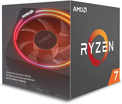 Amazon Com Amd Ryzen 7 2700x Processor With Wraith Prism Led Cooler Yd270xbgafbox Computers Accessories