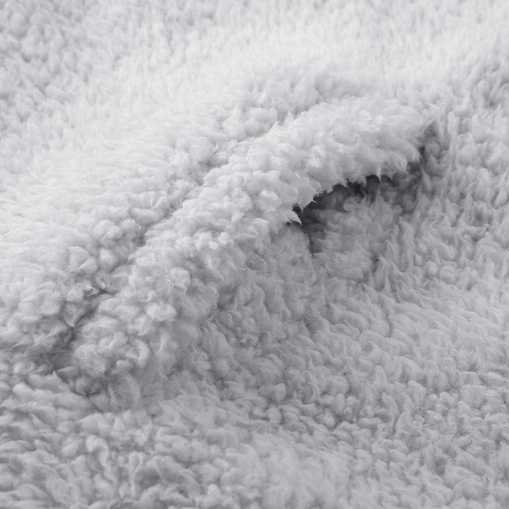 Womens Faux Fur Hooded Coat Winter Fleece Wool Coat Zipper Jacket Warmer Thicken Outwear Overcoat