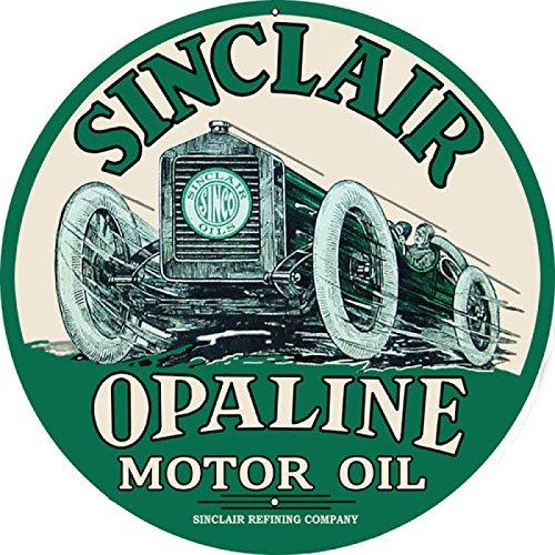 sinclair motor oil sign - 5