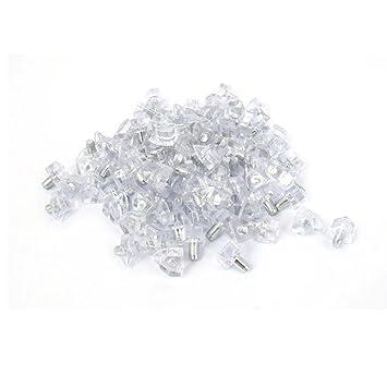 Kitchen Cabinet 2mm Metal Peg Studs Plastic Shelf Supports Pins ...